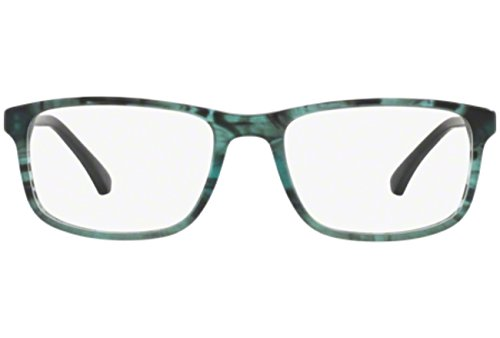 Emporio Armani EA3098 C53 MATTE STRIPED GREEN