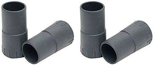 (2 Pack) Fluval Rubber Connector for FX5 High Performance Canister Filter (2 Connectors Per Pack / 4 (Fluval Rubber)