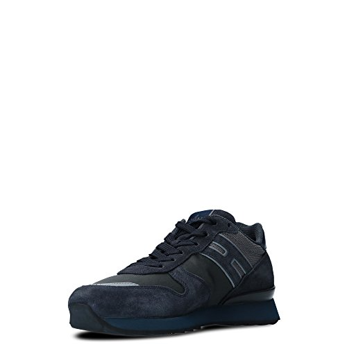 Hogan Mannen Hxm2610r676hjw780r Blauwe Su�de Sneakers Hogan Mannen  Hxm2610r676hjw780r Blauwe Su�de Sneakers ...