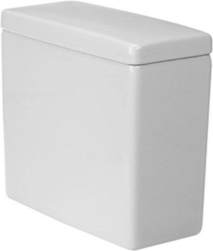 Duravit 920400004 0920400004 Stack 3, Cistern, Mechanism, Bottom Supply, Het/Gb, White Toilet Tank, 14.63 x 15.38 x 7.13'', by Duravit