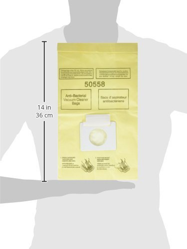 EnviroCare Replacement Micro Filtration Vacuum Bags for Kenmore Canister Type C/Q 50555, 50558, 50557 and Panasonic Type C-5 36 Pack