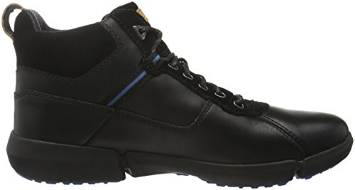Clarks Triman up GTX, Stivaletti Uomo Nero (Black Leather)