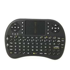 Flying Colourz AK81 Mini Wireless Keyboard Ratón Negro