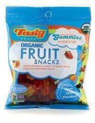 Organic Fruit Snacks Classic Fruit 2.75 oz Bags by Tasty Brand by Tasty Brand