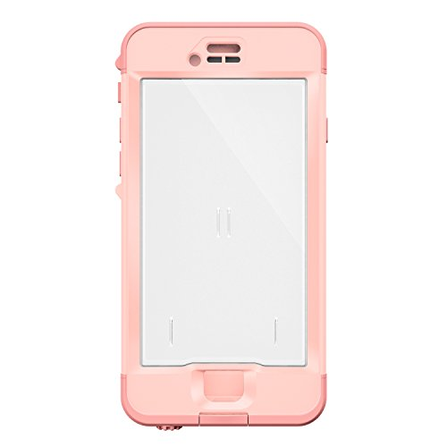 Lifeproof NÜÜD SERIES iPhone 6s ONLY Waterproof Case - Retail Packaging - FIRST LIGHT (PINK JELLYFISH/CLEAR/SEASHELLS PINK) by LifeProof (Image #3)