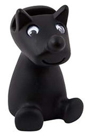 d0a6aca0a0d Remaldi Glasses Stand Spec Holder Holder for Specs Gift Present Boxed Boris  Dog Spec Holder Black  Amazon.co.uk  Health   Personal Care