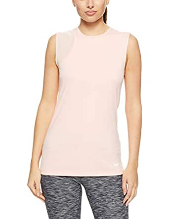 Nike Women's Dri-FIT Tank Top 930238-646, Storm Pink/White, S