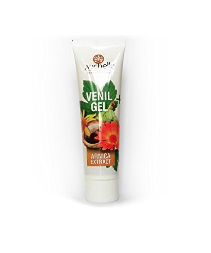Venil Gel for Varicose Veins with Natural Extracts of Horse Chestnut, Oak Bark and Calendula - 110ml