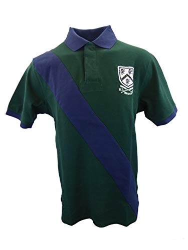 Polo Ralph Lauren Mens Big and Tall Mesh Classic Fit Rugby Shirt (2XLT, Green - Rugby Classic Fit Striped