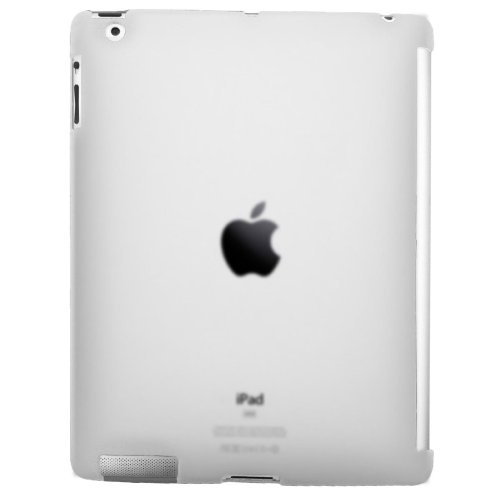 Sanoxy Smart Cover Compatible Slim Back Case for Apple iPad 2 - Clear (Cover Smart Cimo)