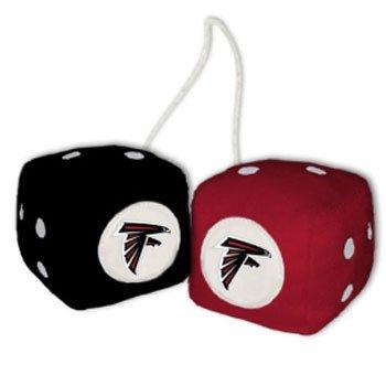 NFL Atlanta Falcons Fuzzy Dice