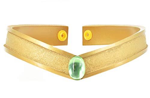 (DAZCOS Gold Cosplay Tiara Queen Headwear Props Resin (Kino)