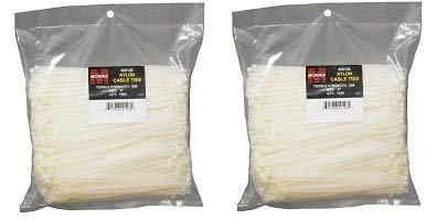 【格安SALEスタート】 Morris (1000本パック) 20128 ナイロンケーブルタイ 50ポンド 引張強度、長さ11インチ、ナチュラル B07MG4ZF82 (1000本パック) 2-(Pack) 2-(Pack) B07MG4ZF82 2-(Pack), 日本通販ショッピング:83d65cda --- a0267596.xsph.ru