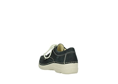 Nubuck Wolky lacets 10070 Noir à Comfort Stroll Chaussures Seamy S6TS0qwP
