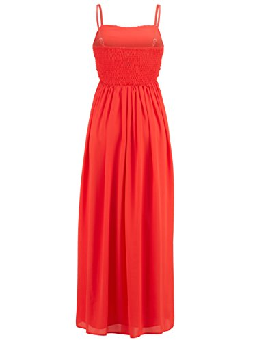 Gr 42 Kleid 0518884759 Langes Orange Marken qRBwOxtn