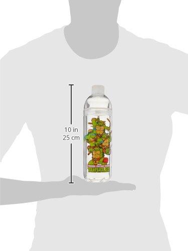 Spoontiques Tent Acrylic Water Bottle Multicolor 17852