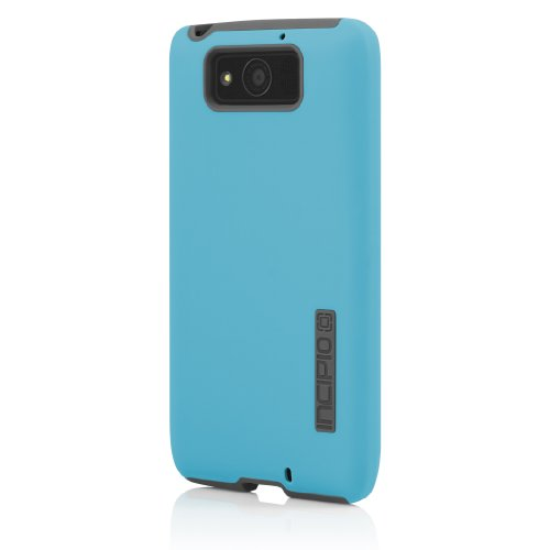 Incipio MT-281 DualPro for the Motorola DROID Ultra - Cyan Blue/Charcoal Gray - Carrying Case - Retail Packaging - Cyan Blue/Charcoal Gray