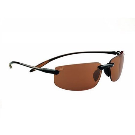 Serengeti Lipari Sunglasses Shiny Brown/Polarized Drivers, 7807