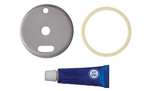 BA Opera Hair Dryer Holder 3.7'', Blow Dryer Organizer - Brass (Polished Chrome)