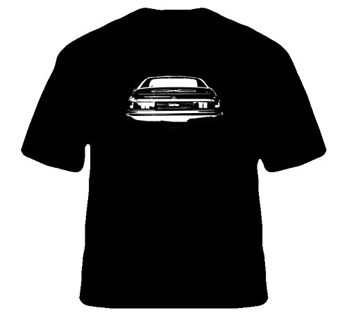 CarGeekTees.com 1993 Toyota MR2 Rear View T Shirt M Black