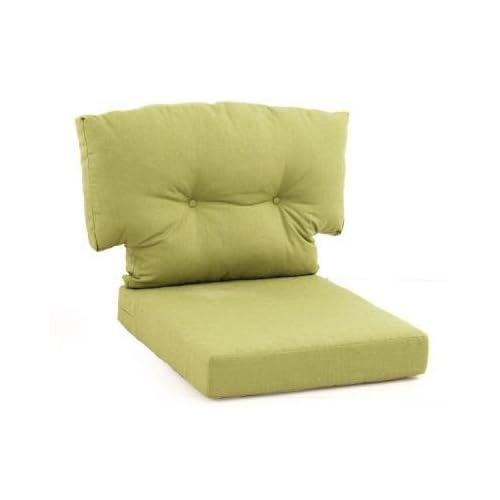 Charlottetown Green Bean Replacement Outdoor Swivel Chair Cushion