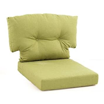 Perfect Martha Stewart Living Charlottetown Green Bean Replacement 2 Piece Outdoor  Lounge Chair Cushion