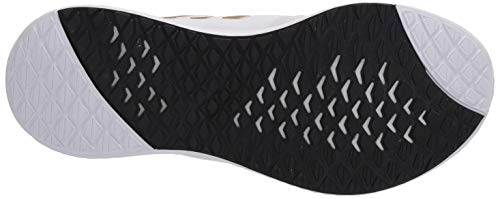 adidas Women's Edge Lux 3 Running Shoe, White/Gold Metallic/White, 6 M US