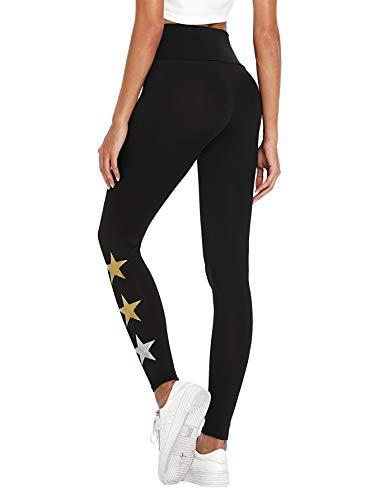 402870b1fe9f26 SOLY HUX Women's Mid Waist Zip Slimming Leggings Checkered Skinny Pants