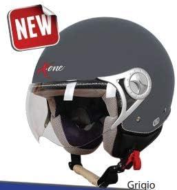 S, BLU X.ONE ACCESSORI SRL CASCO CASCHI PER SCOOTER MOTO JET SIRIO OMOLAGIONE ECE 22.05 CERTIFICAZIONE EUROPEA