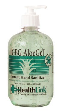 Hand Sanitizer 18 Oz Pump (HAND SANITIZER, 18 OZ, GBG ALOE GEL by