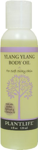 Ylang Ylang Body & Bath Oil with Vitamin E, Apricot & Jojoba