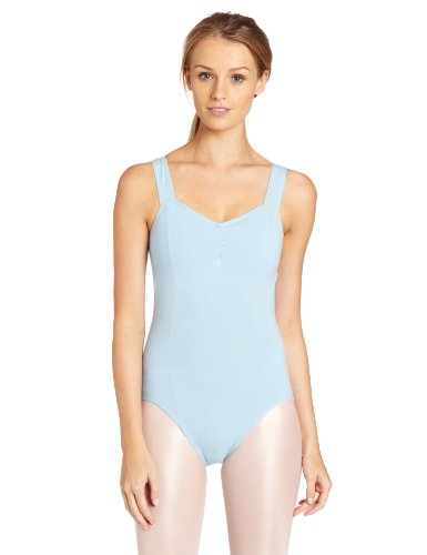 Capezio Women's Princess Tank Leotard,Light Blue,X-Small