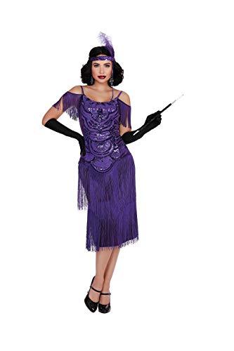 Flapper Halloween Costume 2019 (Dreamgirl Women's Miss Ritz, Costume,)