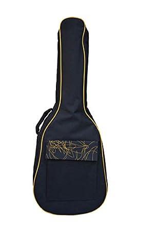 Amazon.com: Funda para guitarra acústica con bolsillo ...