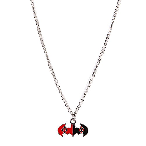 Harley Quinn Logo Charm Necklace
