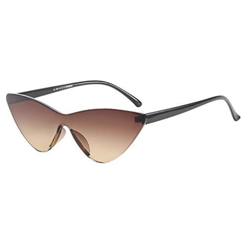 Clearance!!! FEDULK Unisex Retro Glasses Radiation Protection Eyewear Fashion Casual Sunglasses(A, Free Size)