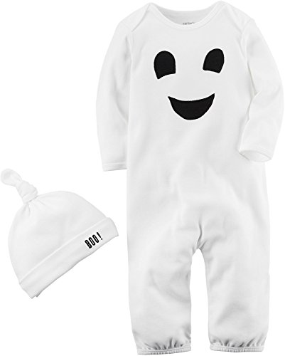 Carter's Baby 2-Piece Ghost Hat And Jumpsuit 9 -