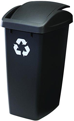 Rubbermaid Swing Top Wastebasket 50 Quart Cashmere product image