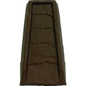 Master Mark Plastics 30924  Splash Block  24 Inch, Chocolate