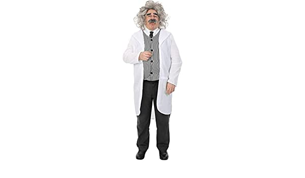 ORION COSTUMES Adult Male Albert Einstein Costume: Amazon.es ...