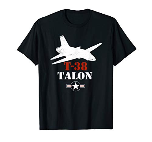 T-38 Talon Patriotic Vintage Jet Trainer Pilot T-Shirt for sale  Delivered anywhere in USA