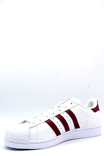 adidas Originals Men's Superstar Trainers White (Ftwbla / Rubmis / Ftwbla) il0gL7