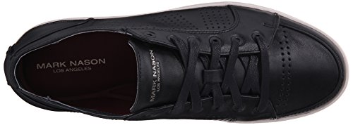 Mark Nason Los Angeles Mens Crocker Fashion Sneaker Nero / Bianco