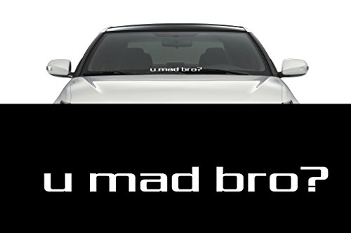 u mad bro decal - 7