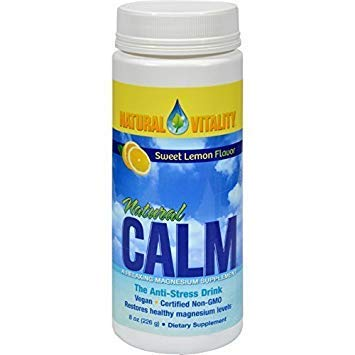NATURAL VITALITY Calm,Lemon, 8 OZ by Natural Vitality