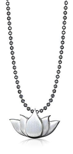 """Alex Woo Little Faith Lotus Blossom Pendant Necklace, 16"""""""