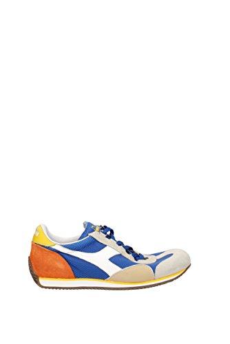 Diadora Heritage Scarpe Sneakers Uomo camoscio Nuove Equipe lperfe Vintage Grigi Blu