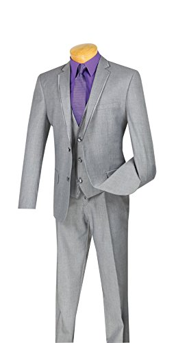 SUITS OUTLETS Leonardo Collection - Slim Fit Tuxedo 2 Buttons 3 - Collection The Outlet Stores