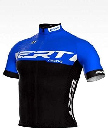 Camisa Ciclismo ERT Elite Racing Azul Tamanho:GG;Estampa:Racing Azul