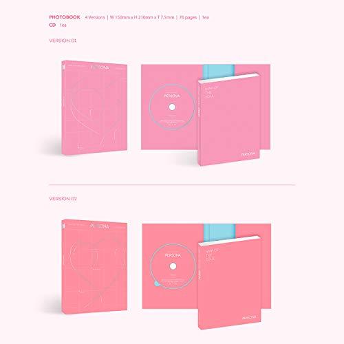 MAP OF SOUL : PERSONA - BTS Album [ 4 Ver. ] CD + Photobook + Mini Book + Photocard + Postcard + Photo Film + FREE GIFT
